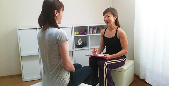 生理周期に合わせた運動のヒアリング